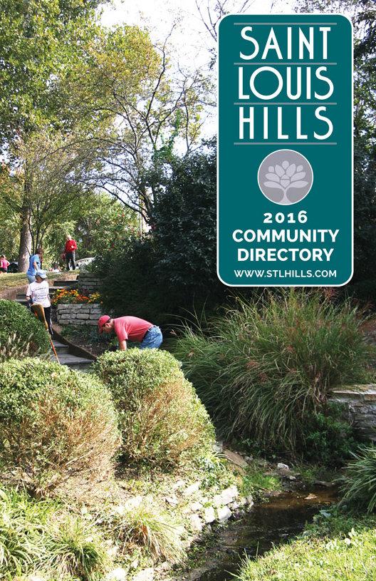 St. Louis Hills Directory 2016